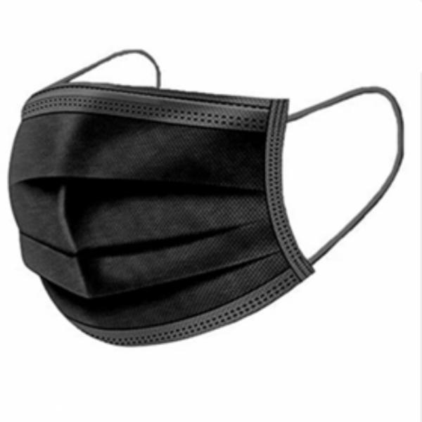 medical face mask black 50 pcs