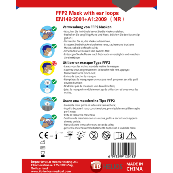 Keyou FFP2 face mask 20 pcs