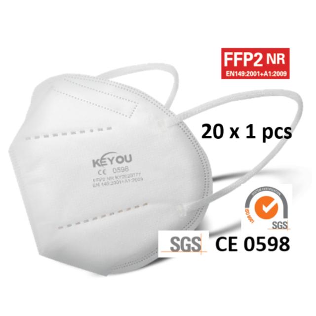Keyou FFP2 face mask 20x1 pcs