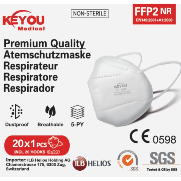 Keyou FFP2 face masks 20