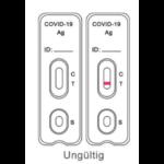 Covid test result_ungultig